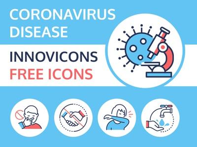 Coronavirus free icons