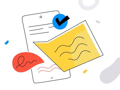 Review illustrations for business custom illustrations custom graphics feedback review design studio vector style design illustration