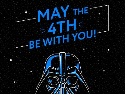 Star Wars Day universe fan star wars day funart starwars vector style design illustration