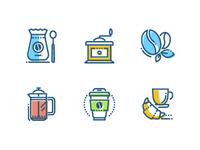 Coffee - icon set