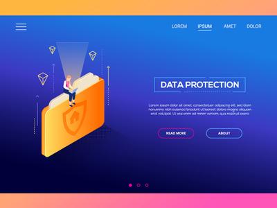 Data ptotection web banner