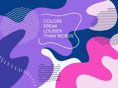 Bright colorful background background purple memphis retro abstract composition flat design vector style design illustration