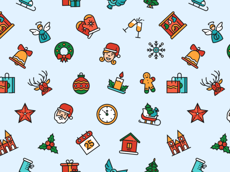 Download Christmas pattern freebie