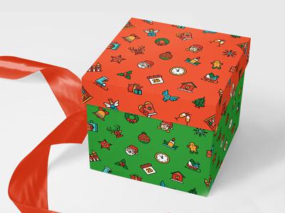 Christmas pattern freebie freebie icon symbol new year christmas pattern design tileable seamless pattern vector