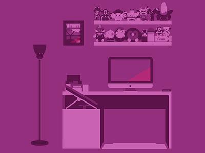 Portfolio - Bio Illustration graphic design workstation sketch adobe illustrator vector illustration illustration portfolio