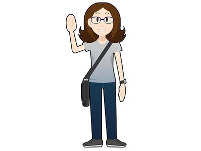 Self Portrait vector vector illustration self portrait adobeillustrator procreateapp doodle illustration