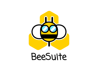 Bee Suite Logo logo design logo bee adobe illustrator illustration iconography vector