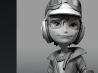 Pilot Character model
