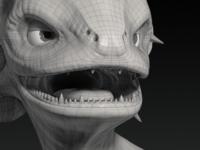 Creature Bust Model