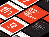 Acronym project