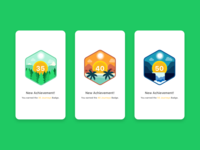 Achievement Badge Illustrations #2