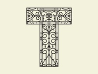 French Ironwork T