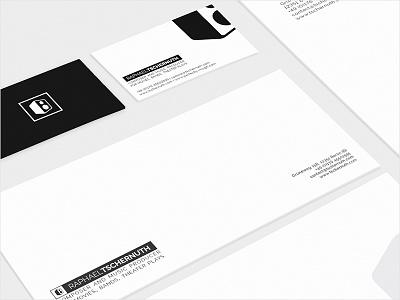 Branding/graphic design for Raphael Tschernuth graphic design webdesign stationery logo identity branding