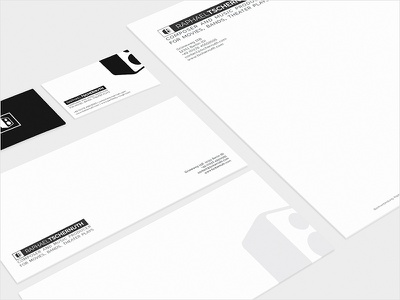 Branding/graphic design for Raphael Tschernuth graphic design web design stationery logo identity branding