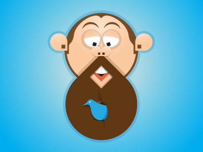 Beardhouse vector rebound illustration blue brown beard