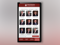 T. W. Frierson Digital Signage