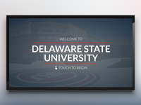 Delaware State Digital Signage