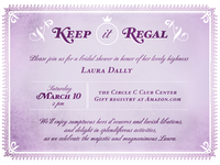 Keep it Regal Invite
