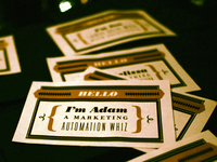 National Compliment Day name tags