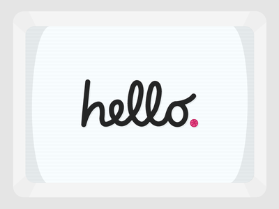 Hello Dribbble 👊 debut dribbble