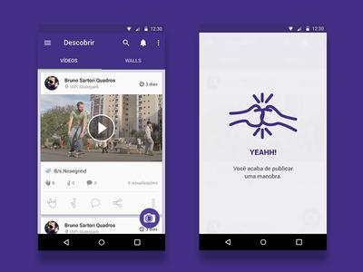 Walltricks Android app