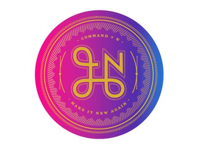 CMD+N Sticker