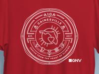 AIGA Gainesville Tshirt Concept