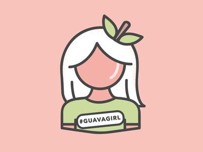 Guava Girl Icon