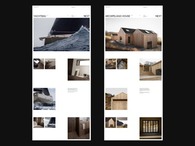Norm Architects studio minimalism furniture interior architecture typography website interface dribbble behance ux ui web design logo branding web