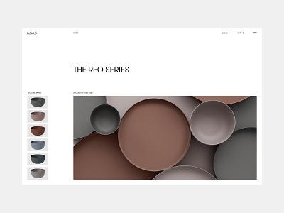 Blomus studio minimalism furniture interior architecture typography website interface dribbble behance ux ui web design logo branding web