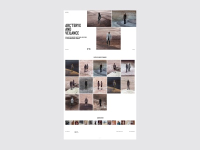 Norse Store fashion ecommerce shop store minimalism typography website interface dribbble behance ux ui web design logo branding web