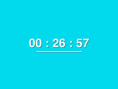 Javascript Color Clock clock javascript