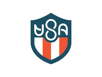 USA Forever lettering graphic design logo design patriotic usa