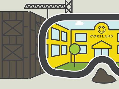 VR View vector digital illustration graphic design design illustration