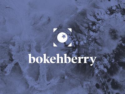 bokehberry bokeh berry branding vector typography design graphic design logo design logo visual  identity