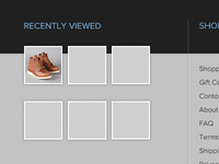 Online Shop - Footer