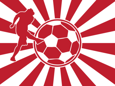 Bandsaw Soccer original limited english bandsaw translation world cup rising sun vector illustration decal tshirt design flat ball white red light rays flag sun japanese japan soccer