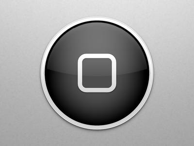 Home Button ux app logo original limited apple design home folder old school 512 512px apple icon vector black white ui design icon button home iphone apple