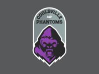 The Coolsville Phantoms Fantasy Football Logo