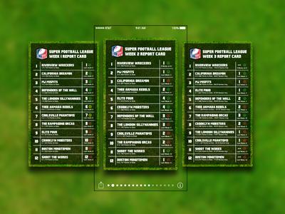 SFL Fantasy Football App Concept 9:41 fantasy fantasy sports design grass green sfl ux logo vector flat app ios iphone football nfl fantasy football branding ui