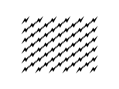 Lightning Pattern tessellation electricity electric one color stripes zig zag lightning bolts branding black white flat vector original limited lines flag pattern lightning