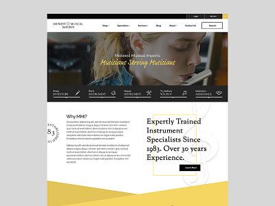 MMI Concept - Full Design  website ecommerce