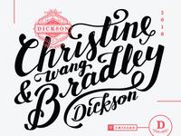 Dickson Lettering