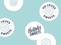 Hu Loves Sweets Logo 2