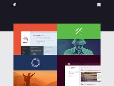 Portfolio ux ui branding project identity color personnal rousseau alexis webdesign portfolio