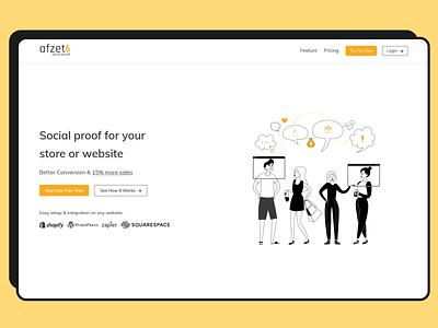 Landing page design heroimage webdesign web uidesign uiux landingpage agency vector ui design illustration design inspiration