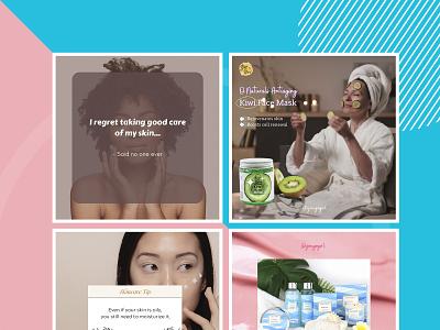 You Go Girl for SMM post twittert facebook instagram banner socialmedia smm colorful design agency logo branding