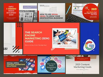 Blog for Freelancers HUB logo illustration branding agency design design inspiration colorful