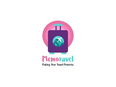 Memoravel Logo Design vector illustration logo design branding agency design inspiration colorful