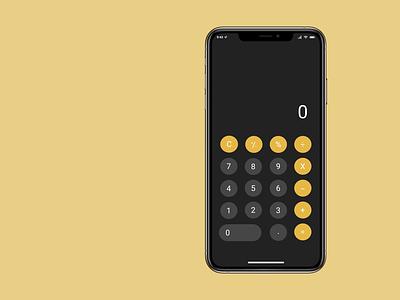 Calculator ux design ui design ui calculator app figma dailyui